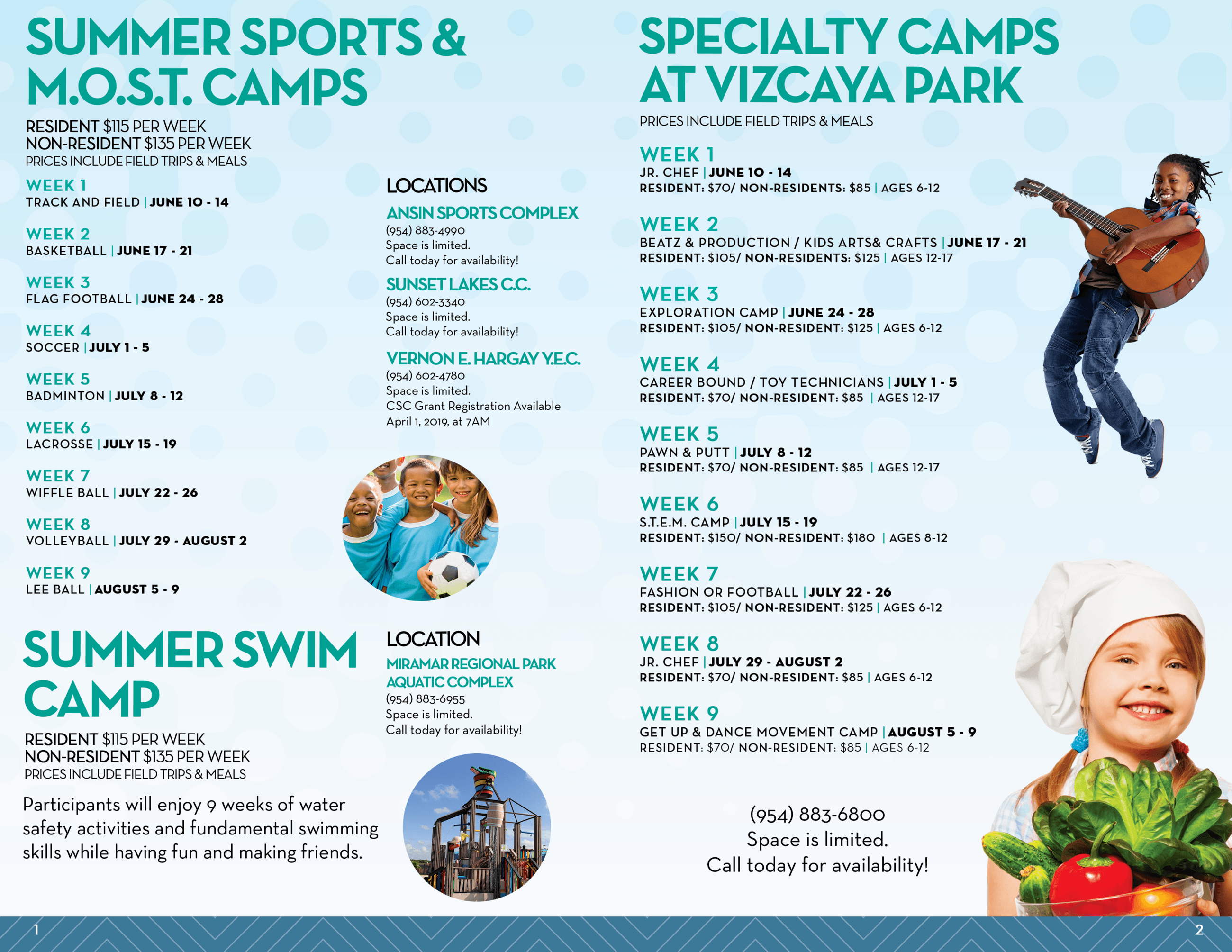 Summer Camp 2019 Brochure