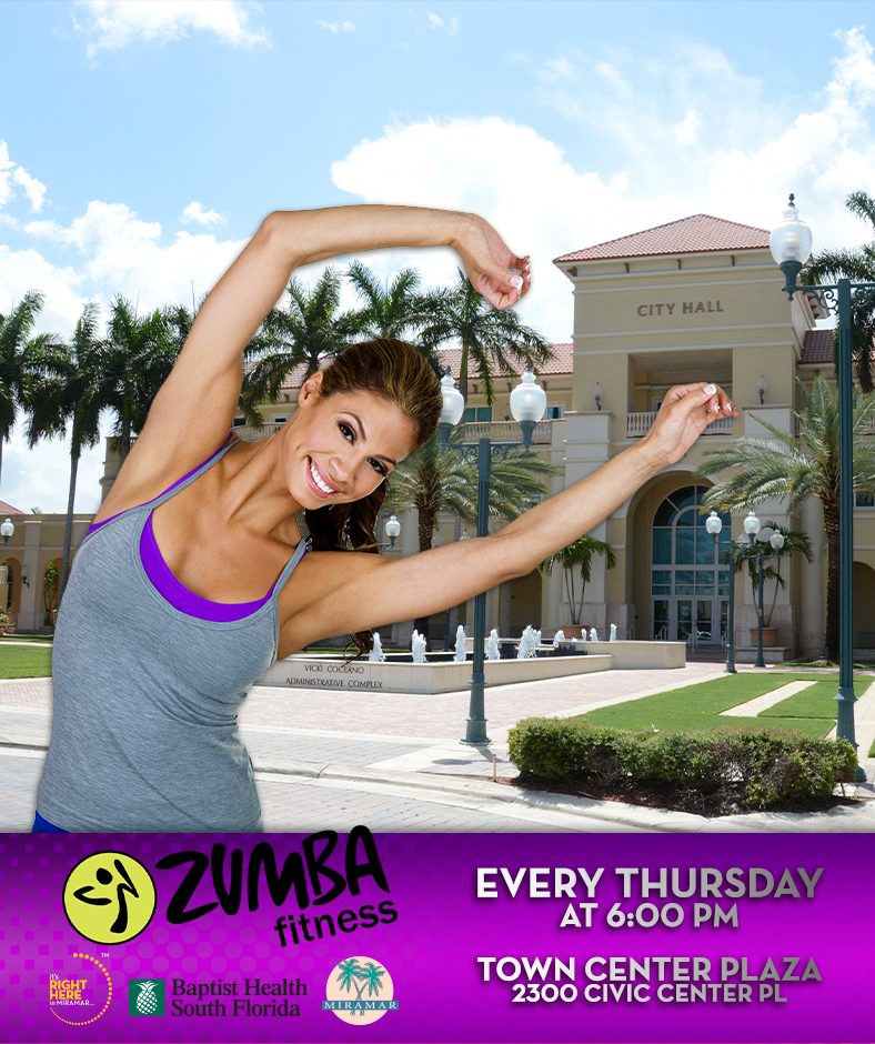Zumba on the Plaza!