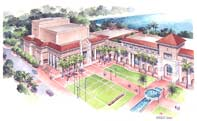 Cultural Center Arts Park Rendering