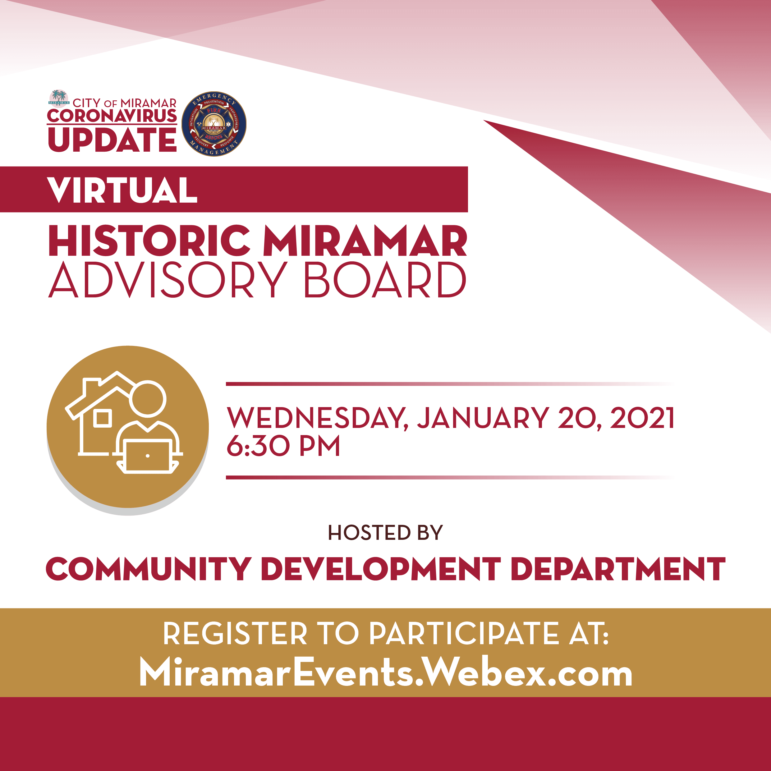 Virtual Historic Miramar Advisory Board - News