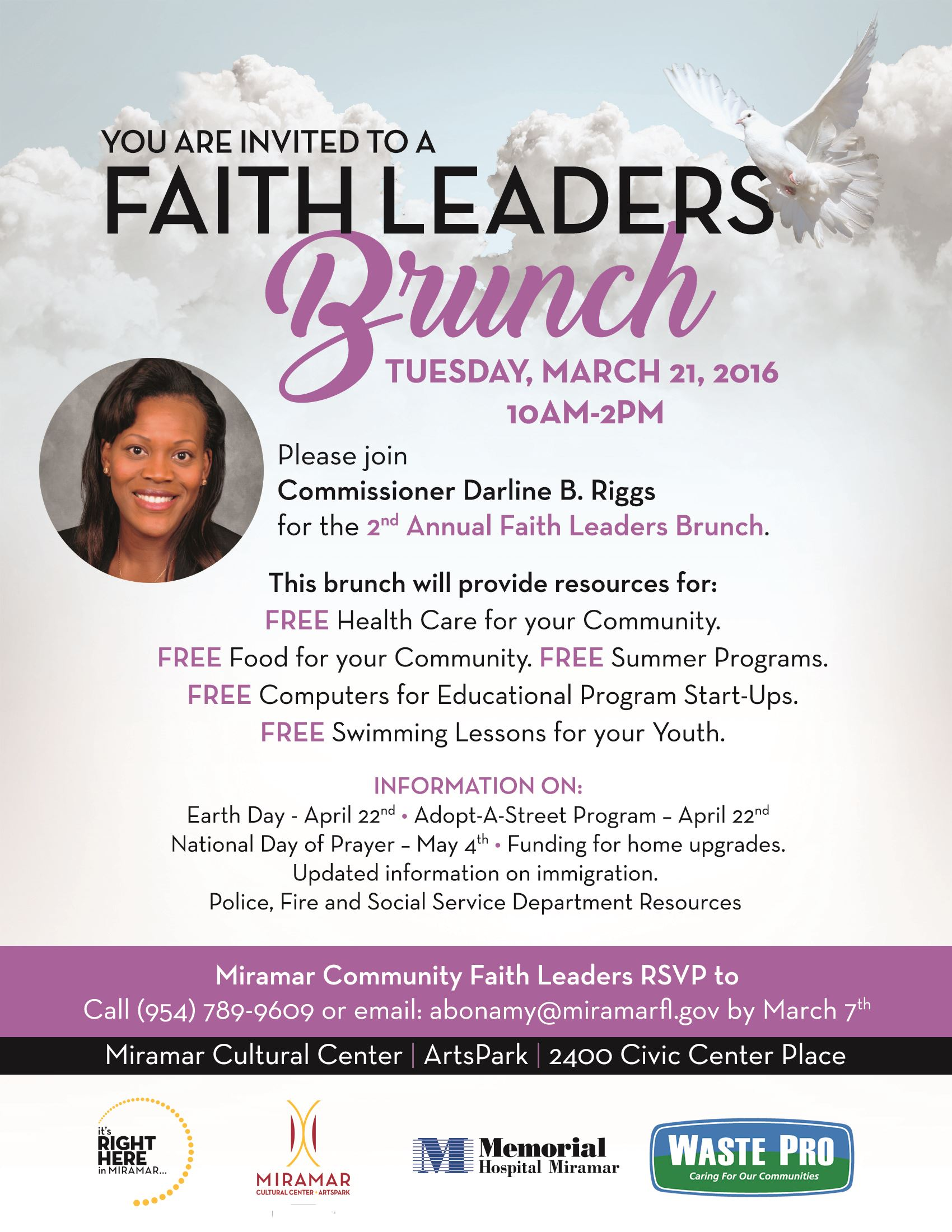 Faith Leaders Brunch