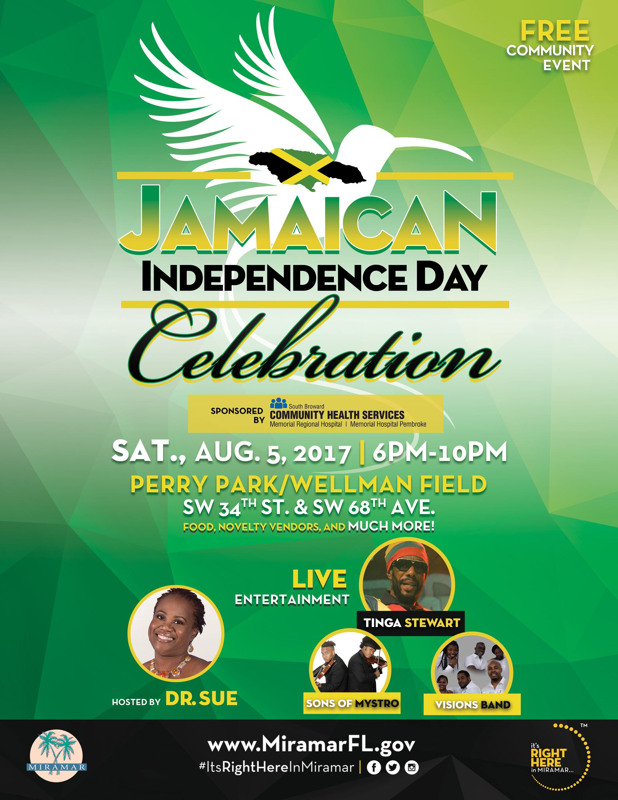 Jamaican Heritage Festival Flyer