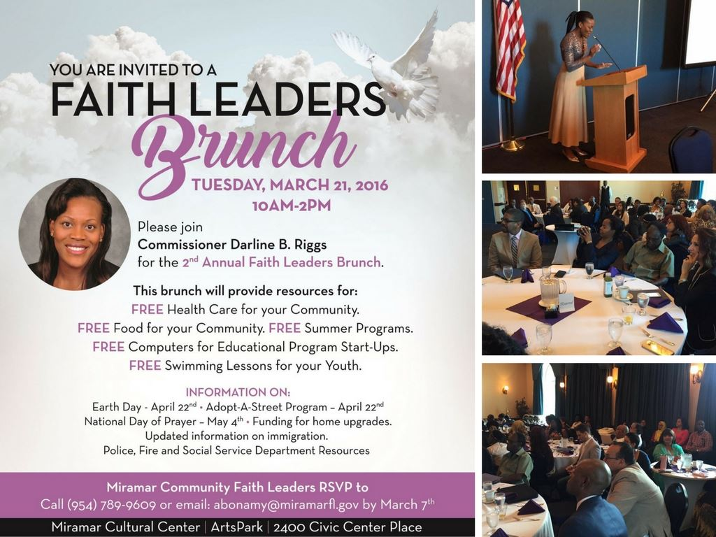 2017 Faith Leaders Brunch