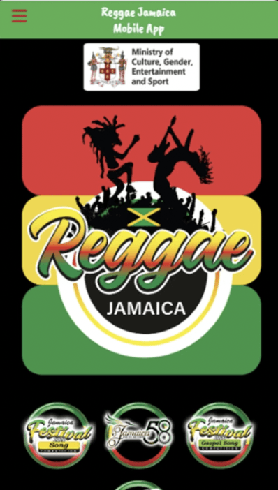 Reggae Jamaica App - Apple Store
