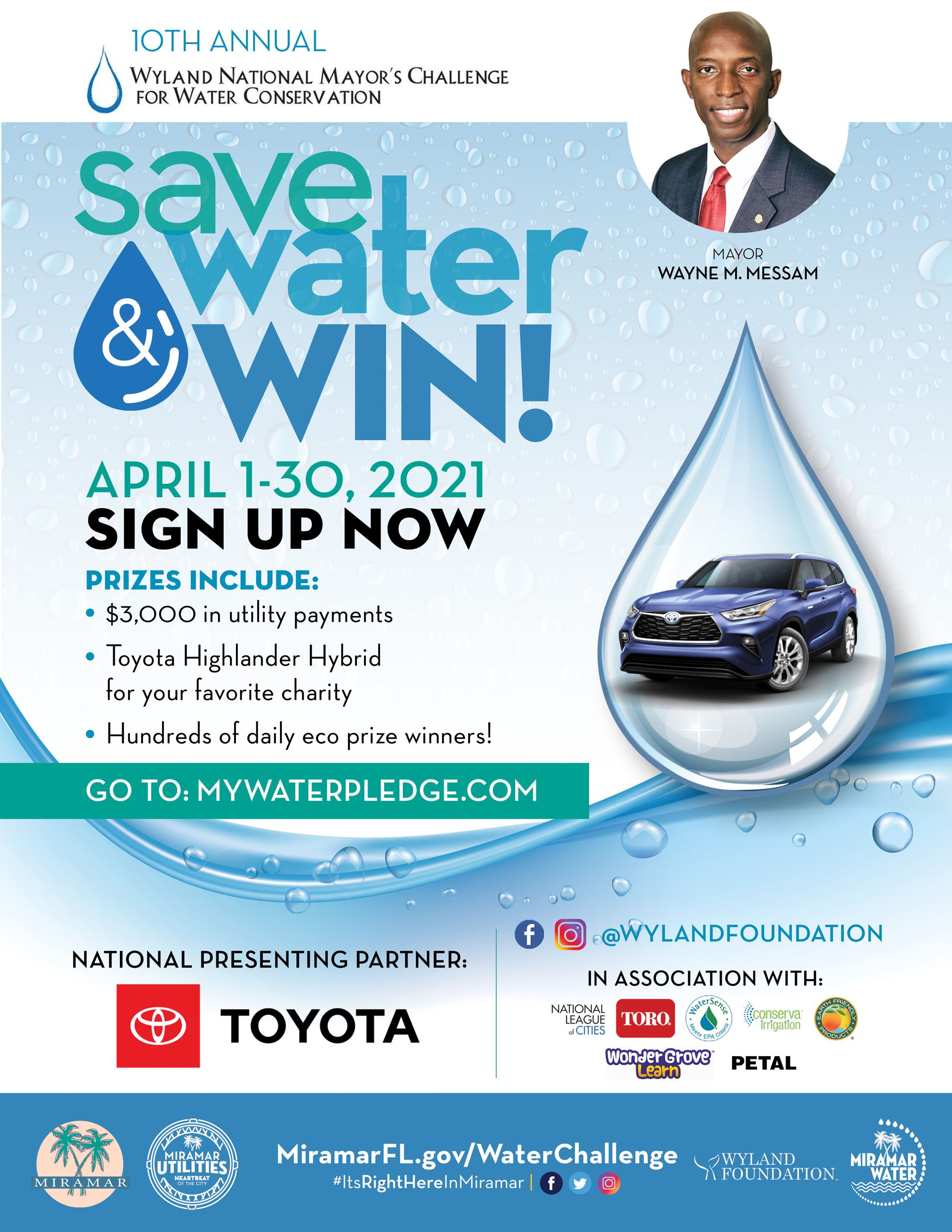 Water Conservation Challenge  2021